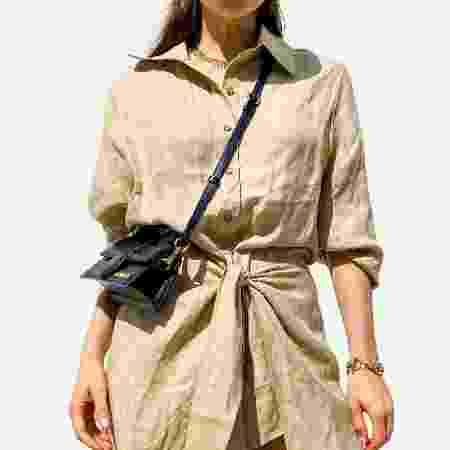 Vestido de linho, tecido que no inverno causa a mesma sensação do jeans - Getty Images - Getty Images