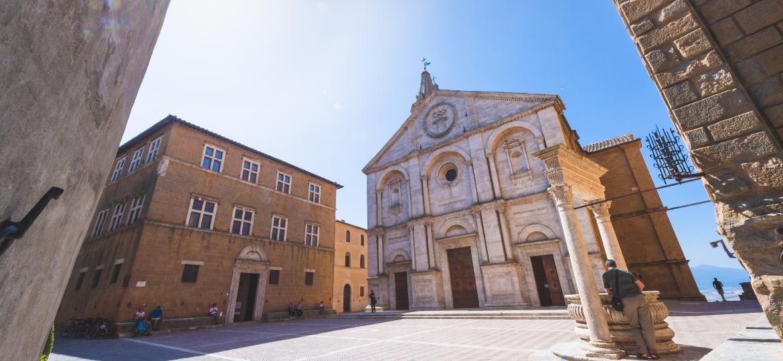 Centro histórico de Pienza é Patrimônio Unesco desde 1996 - Getty Images