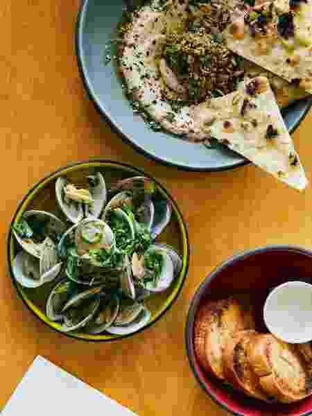 E refeição do Joann's Fine Food, um típico dinner americano anexo ao Austin Motel - Matt Harrington - Matt Harrington