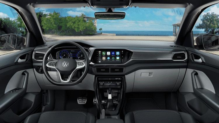 Volkswagen T-Cross 2022 - Divulgação - Divulgação