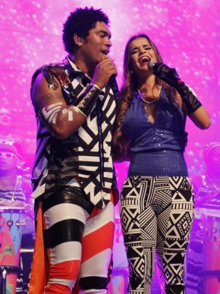 Denny, vocalista da Timbalada, convida Mari Antunes do Babado Novo para os ensaios de verão - Divulgação