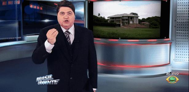 Datena dá bronca em colegas de Redação por causa de barulho - Reprodução/TV Bandeirantes
