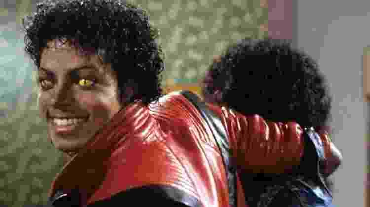 """Michael Jackson no clipe de """"Thriller"""" - Reprodução - Reprodução"""