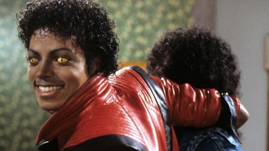 """Michael Jackson no clipe de """"Thriller"""" - Reprodução"""