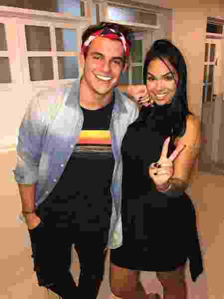 Os ex-BBBs Antonio e Mayara - Reprodução/Instagram
