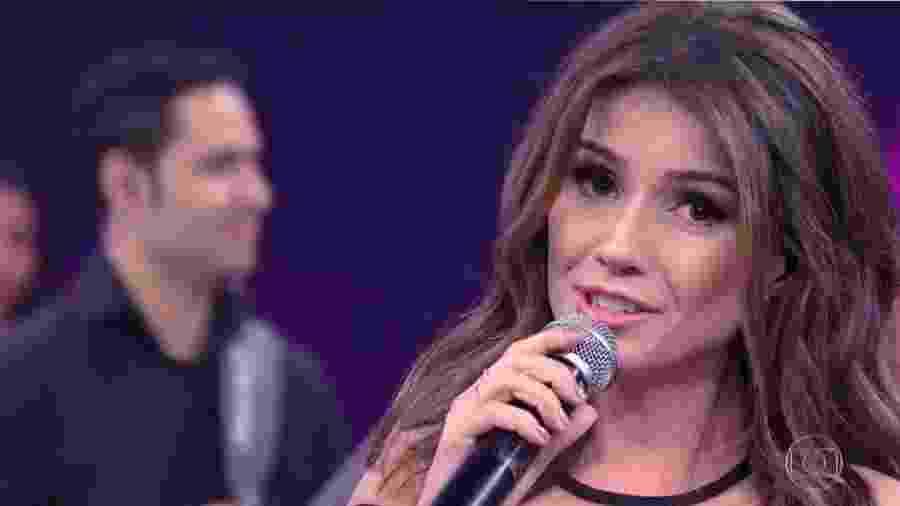 A cantora Paula Fernandes - Reprodução