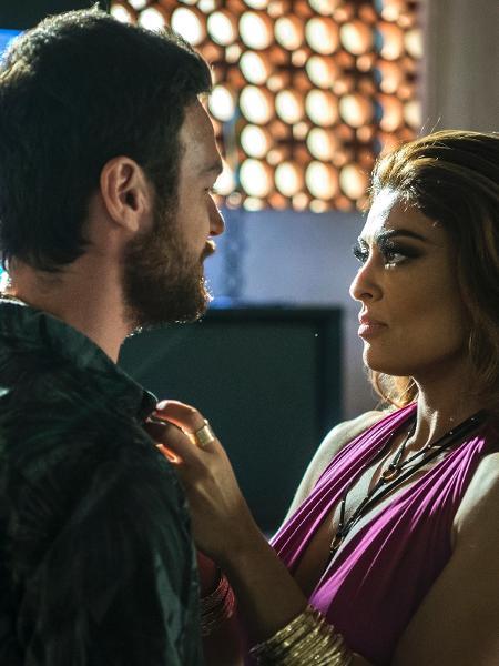 """Bibi (Juliana Paes) e Rubinho (Emilio Dantas) em cena de """"A Força do Querer"""" - Estevam Avellar/Globo"""