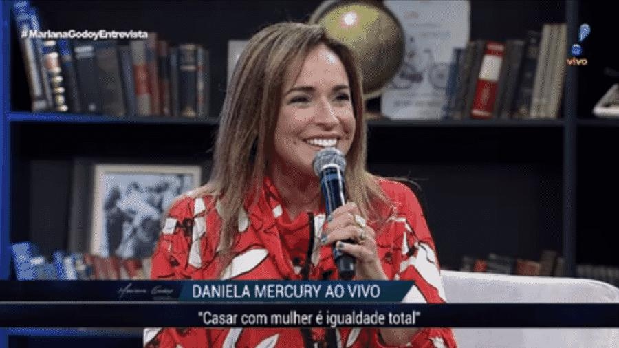 Daniela Mercury - Reprodução/RedeTV!