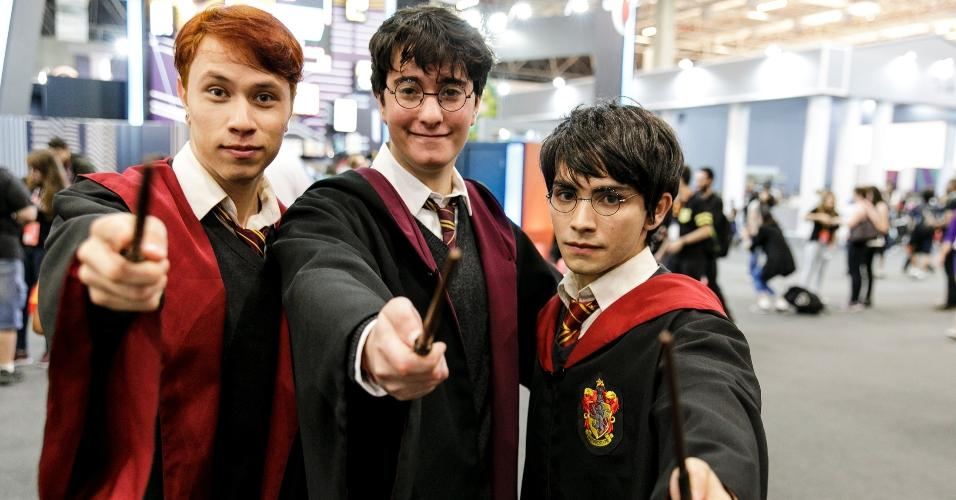 O universo mágico do Harry Potter é um dos lembrados pelos frequentadores da CCXP