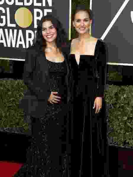 America Ferrera, de Christian Siriano, e Natalie Portman, de Dior - Getty Images