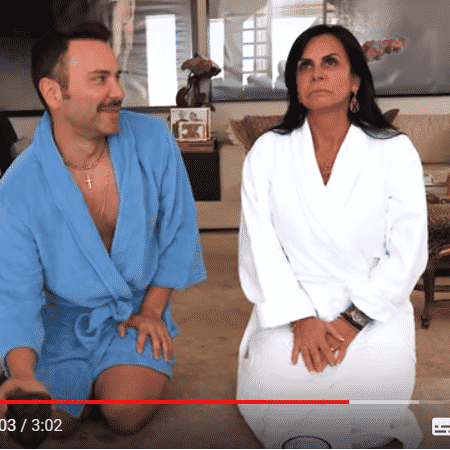 Matheus Mazzafera e Gretchen - Reprodução/YouTube