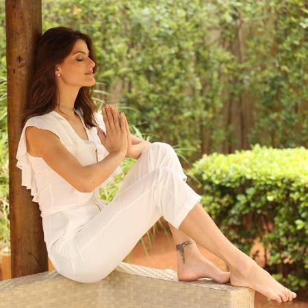 Isabeli Fontana na natureza - Reprodução/Instagram