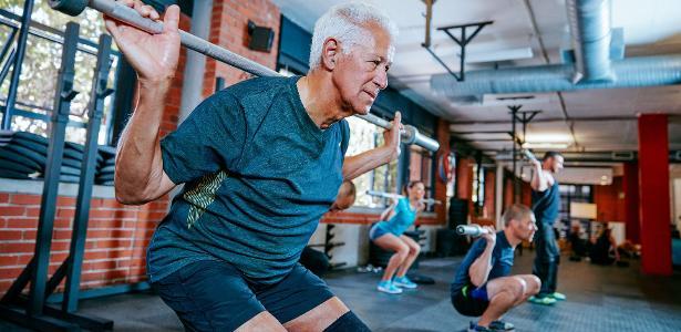Sarcopenia é a diminuição da massa muscular (massa magra) no corpo