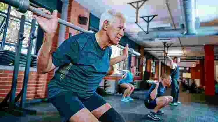 Idoso, atividade física, prática de atividade física, exercício físico - Getty Images - Getty Images
