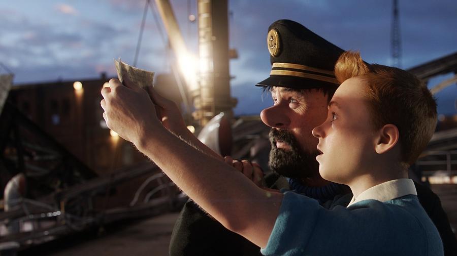 """Cena do filme """"As Aventuras de Tintin"""" - Reprodução"""