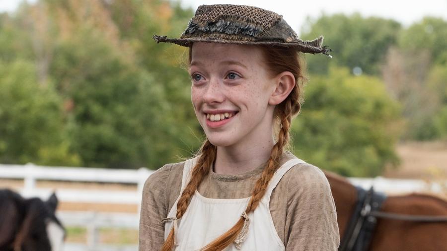 """Amybeth McNulty vive Anne em """"Anne With an E"""" - Divulgação"""
