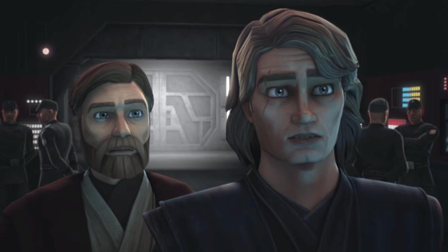 """Cena de """"Star Wars: The Clone Wars"""" - Reprodução/YouTube"""