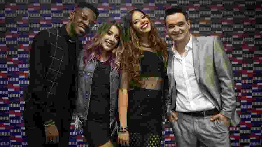 """Kevin Ndjana, Isa Guerra, Erica Natuza e Léo Pain, os finalistas do """"The Voice Brasil"""" - Isabella Pinheiro/Gshow"""