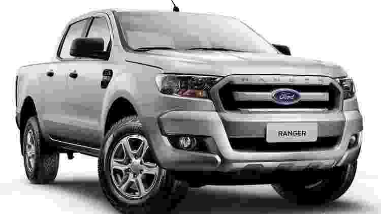 Ford Ranger XLS 4x2 tem preço sugerido a partir de R$ 129.800 - Divulgação