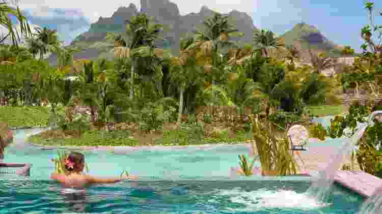 Spa do Four Seasons Resort Bora Bora - Divulgação/Four Seasons Resort Bora Bora - Divulgação/Four Seasons Resort Bora Bora