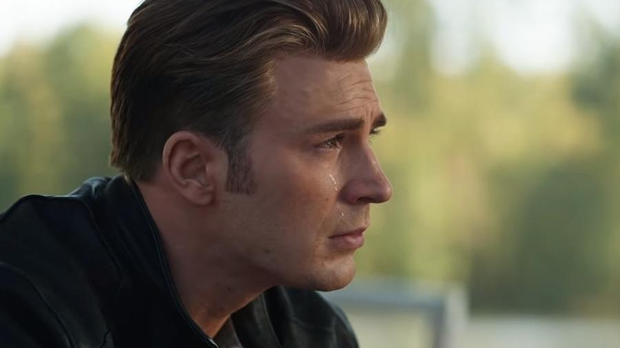 """Capitão América aparece sem barba em """"Vingadores: Ultimato"""" - Reprodução"""