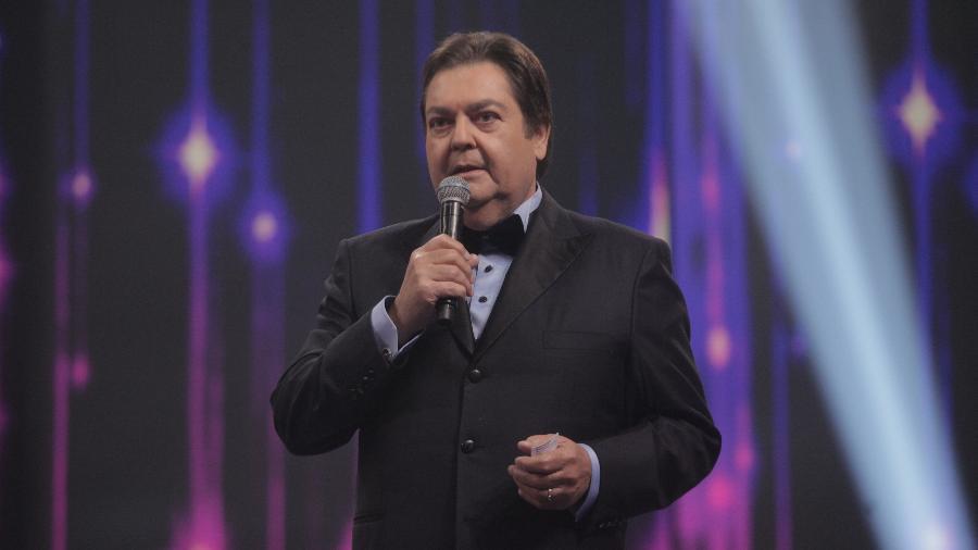 Fausto Silva - Raquel Cunha/TV Globo