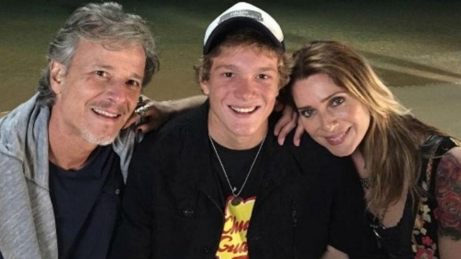 Pedro Novaes falou sobre a importância dos pais, Marcello Novaes e Letícia Spiller, em sua vida - Reprodução/Instagram