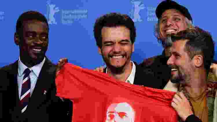 """Seu Jorge, Wagner Moura e Bruno Gagliasso promovem """"Marighella"""" no Festival de Berlim - AFP"""