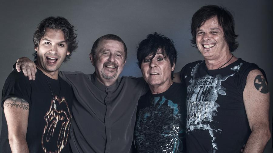RPM com nova formação, com Dioy Pallone, Luiz Schiavon e Paulo P.A. Pagni e Fernando Deluqui - Divulgação