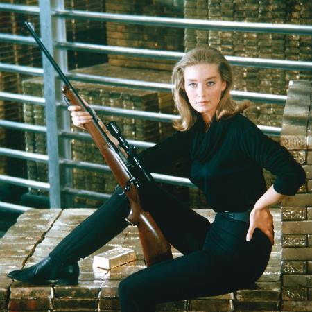 Tania Mallet, que trabalhou em 007 contra Goldfinger - Getty Images