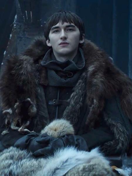 """Isaac Hempstead-Wright como Bran Stark na última temporada de """"Game of Thrones"""" - Reprodução"""