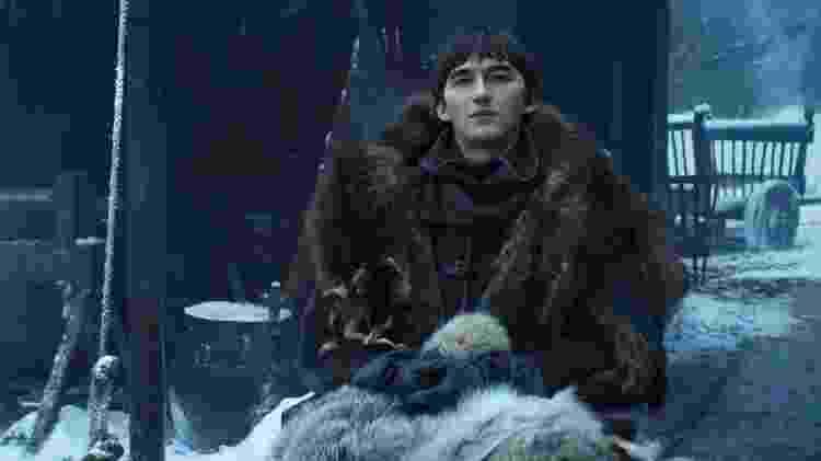 Bran foi escolhido para governar, é coroado - mas assume outra missão pouco depois - Reprodução