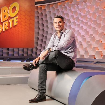 Ivan Moré, ex apresentador do Globo Esporte SP - Ramón Vasconcelos/TV Globo
