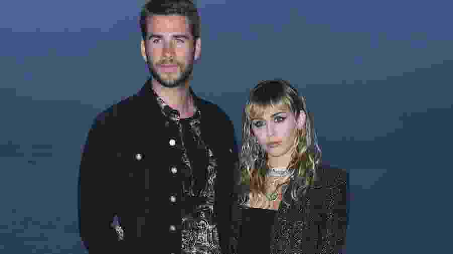 Miley Cyrus e Liam Hemsworth - Valerie Macon/AFP