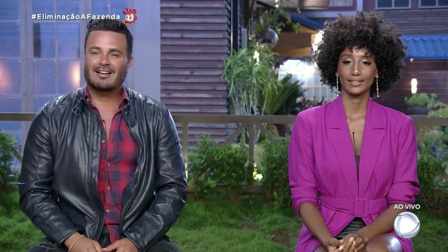 Rodrigo e Sabrina disputam preferência do público em última roça de A Fazenda 2019 - Reprodução/RecordTV