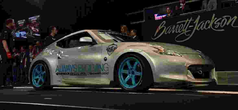 """Nissan 370Z de Paul Walker apareceu em """"Velozes e Furiosos 5"""" - Divulgação"""