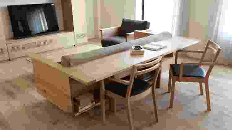 Sofá mesa - Reprodução/Pinterest - Reprodução/Pinterest