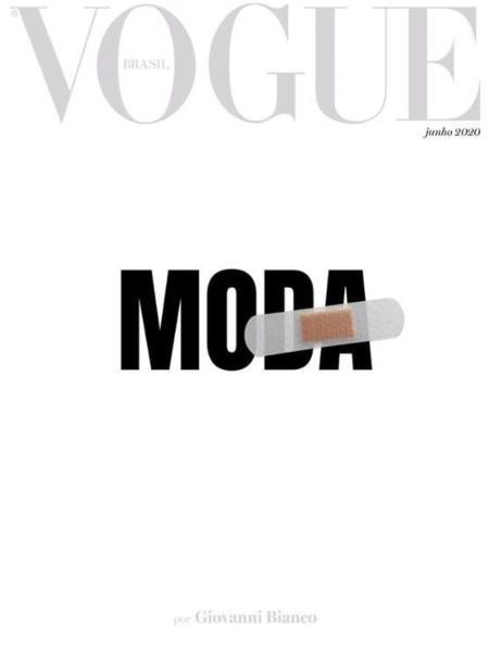 Capa da Vogue de junho - Reprodução/instagram