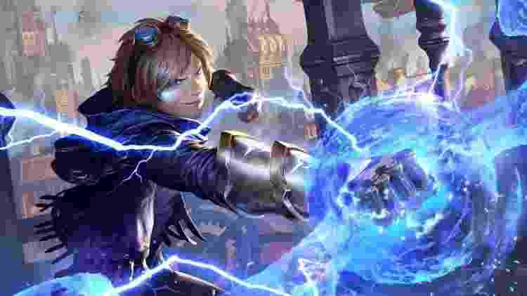 Ezreal Legends of Runeterra - Divulgação/RiotGames - Divulgação/RiotGames