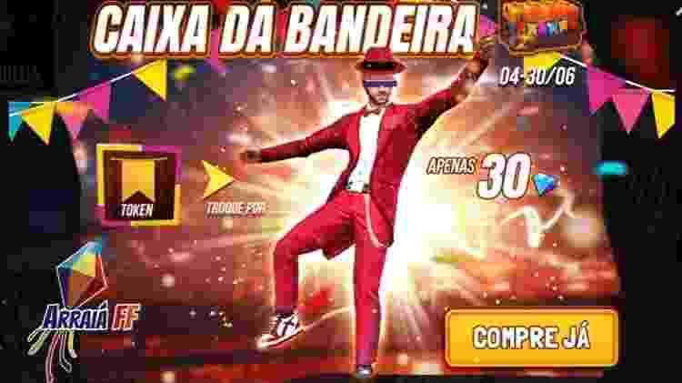 Free Fire Festa Junina - Divulgação/Garena - Divulgação/Garena