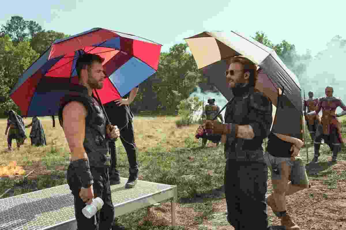Disney divulga fotos dos bastidores de Vingadores: Guerra Infinita - Divulgação