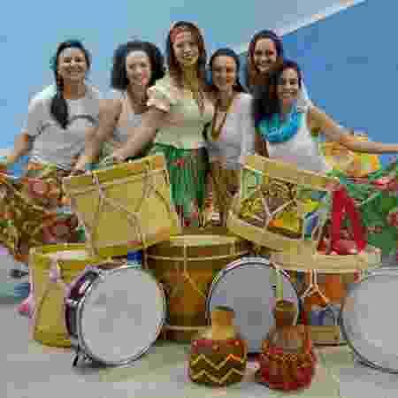 """O coletivo de mulheres percussionistas """"Batuque Raízes da Nega"""", de Bragança Paulista (SP) - Shel Almeida/Divulgação - Shel Almeida/Divulgação"""