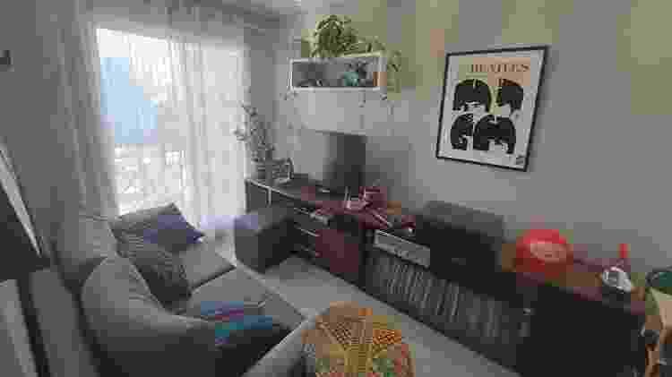 Sala de estar da casa de Leonardo Rodrigues - Leonardo Rodrigues/UOL - Leonardo Rodrigues/UOL