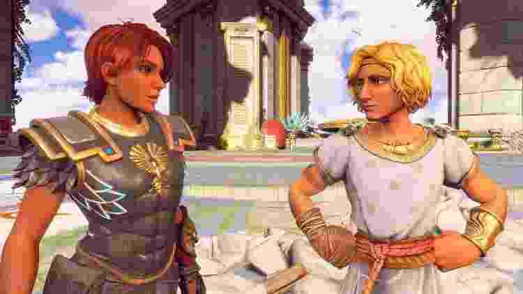 Immortals deus Hermes - Divulgação/Ubisoft - Divulgação/Ubisoft