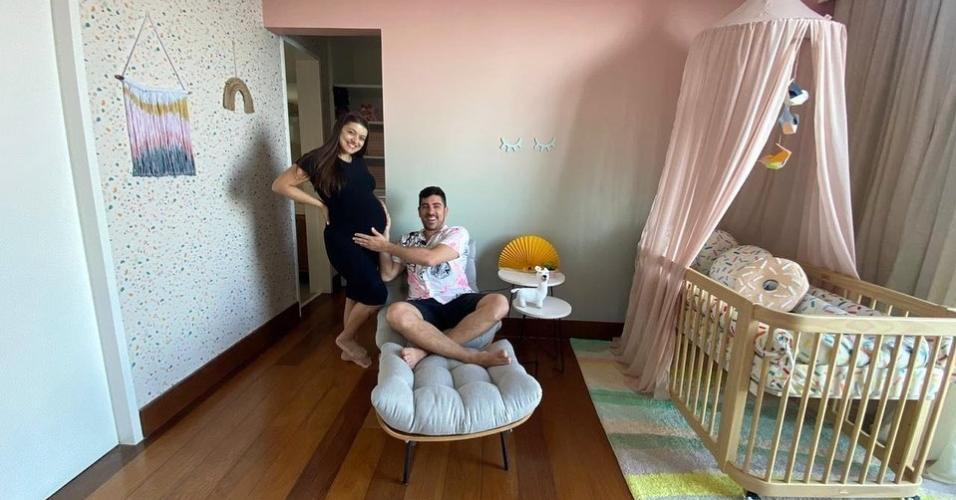 Marcelo Adnet e Patrícia Cardoso exibiram decoração