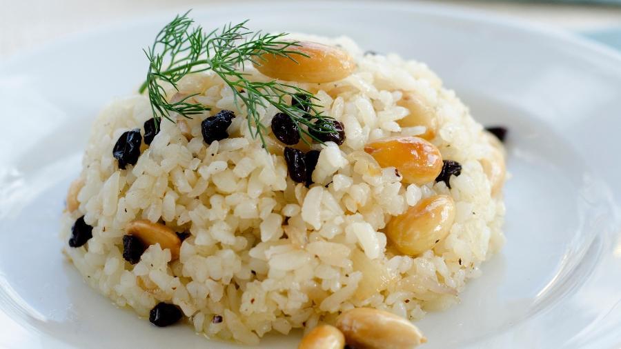 Arroz com passas: prato de confraternização pode dar confusão - Getty Images/iStockphoto