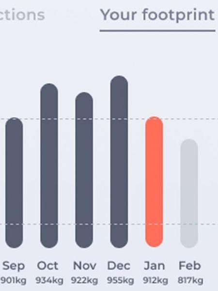 Aplicativo CoGo rastreia pegada de carbono dos consumidores - Divulgação