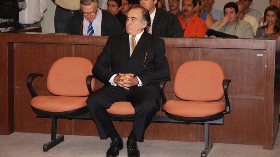 O ex-deputado estadual Aércio Pereira no juri popular que o condenou por homicídio  - Francisco França - 2017/Jornal da Paraíba