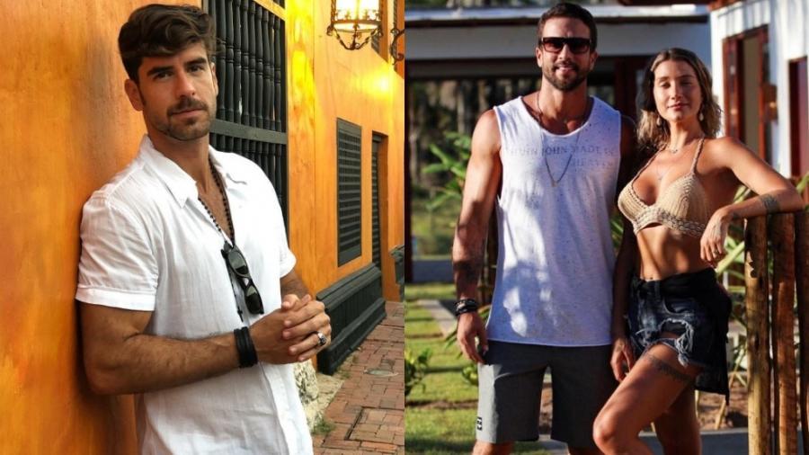 Marcos Pitombo teve seu nome envolvido em fakenews sobre separação de Gabriela Pugliesi e Erasmo - Reprodução/Instagram