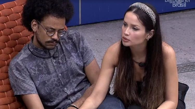 BBB 21: Juliette fala para Camilla e João que Projota foi bobo - Reprodução/ Globoplay - Reprodução/ Globoplay